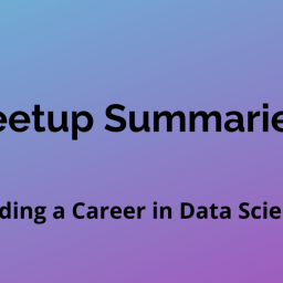 Building a Career in Data Science